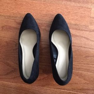 Forever 21 Suede Wedge Heels *LAST CHANCE*